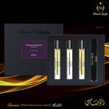 LA YUQAWAM POUR FEMME COLLECTION - SCENT ODYSSEY EDP 7.5ML EACH -SET Rasasi UK & EU Dist