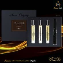 LA YUQAWAM POUR HOMME COLLECTION - SCENT ODYSSEY EDP 7.5ML EACH -SET Rasasi UK & EU Dist