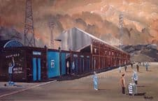 'Final Whistle' - Leeds Road, Huddersfield Town 20'' x 30'' Box Canvas