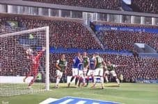'When the Hibs Went up and We Won the Scottish Cup, We Were There' A3 approx poster print
