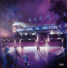 A Walk in the Park, Goodison Park, Everton -  20'' x 20'' approx poster print