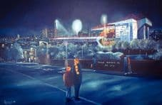 Bradford City - Going to the Match - 20'' x 30'' approx poster print