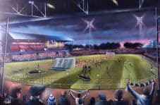 Bristol Rovers - From the Tote End  20'' x 30'' approx poster print