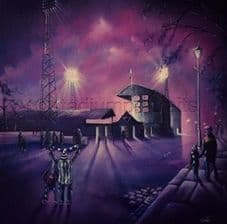 Dunfermline - Ghosts of East End Park 11'' x 11''  poster print