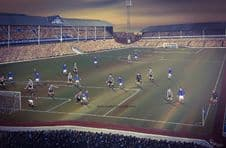 Everton Goodison Park 1966-  A3 approx poster print