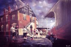 Fulham 20'' x 30'' approx poster print