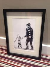 Grimsby Town  'My First Match' - original artwork painted in acrylic in 16'' x 12''frame