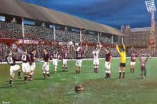 Hearts Tynecastle - The Old Lady'  A3 print
