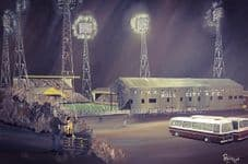 Hull City  Boothferry Park Memories 1970's 20'' x 30'' Box Canvas