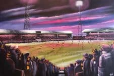 Hull City  - Boothferry Park Memories (1971)  20'' x 30'' Box Canvas
