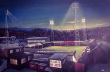 Rotherham Millmoor - 20'' x 30'' approx poster print