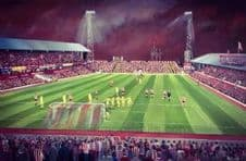Sunderland - Roker Park From The Fullwell End- 20'' x 30'' approx poster print