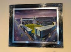 Tranmere Rovers original oil painting UNFRAMED 75cm x 60cm