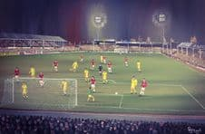 Walsall v Liverpool A3 poster print