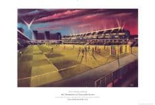 Wimbledon Plough Lane 'The Homecoming' 20'' x 30'' approx limited edition print of 29