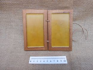 roman and anglo-saxon period double wax writing tablet and stylus living history