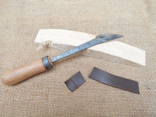 roman to medieval period leather and wood workers scorping knife