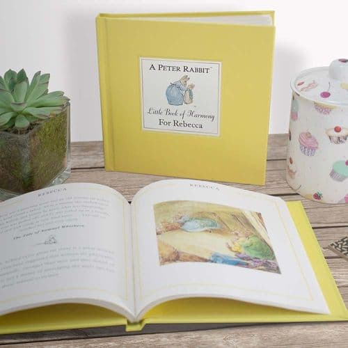 Peter Rabbits Personalised Little Book of Harmony