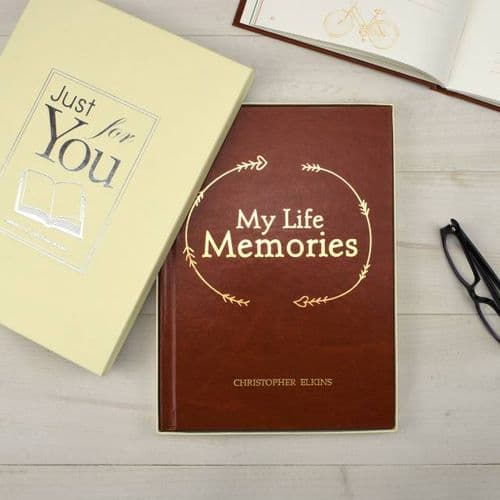 My Life Memories Personalised Journal