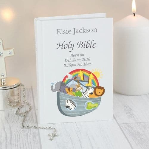 Personalised Childs Holy Bible
