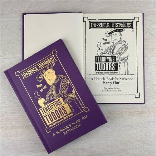 Personalised Horrible Histories Terrifying Tudors