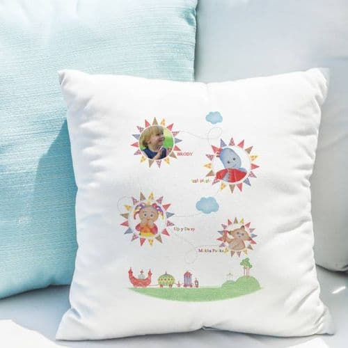 Personalised In The Night Garden Photo Cushion