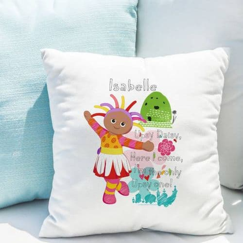Personalised In the Night Garden Upsy Daisy Cushion