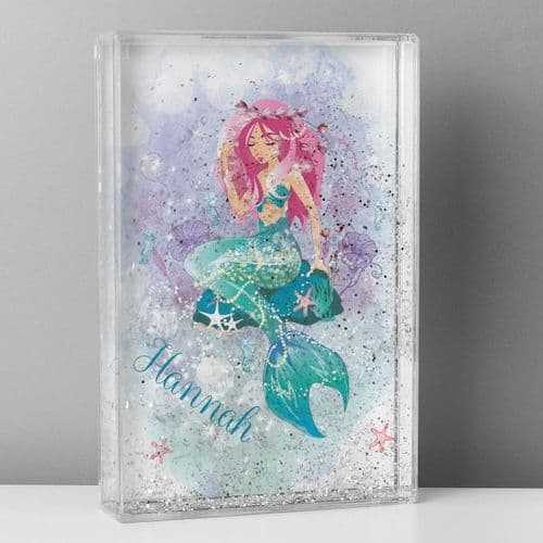 Personalised Mermaid Glitter Shaker