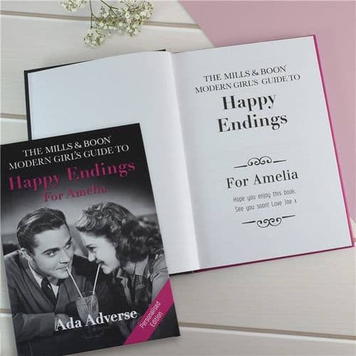 Personalised Mills and Boon Modern Girl's Guide to Happy Endings