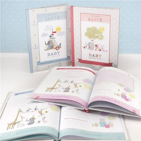 Personalised Milly & Flynn Baby Books