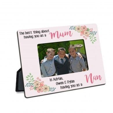 Personalised The Best Thing Photo Frame