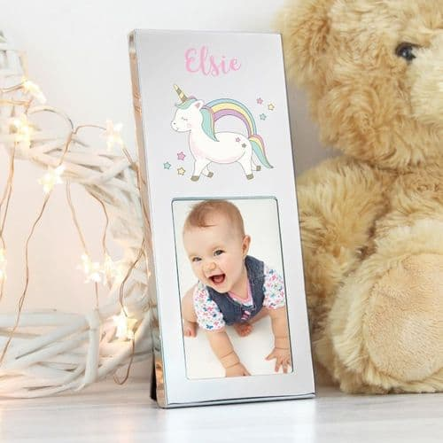 Personalised Unicorn 2x3 Photo Frame