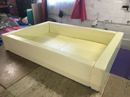 Cream Ball Pond  2 m x 2 m x 40cm high Other SIZES MADE
