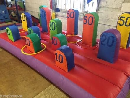 Inflatable Hoopla 10ft x5ft with hoops