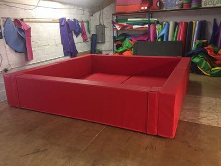 "MADE TO ORDER Ball Pond  3 m x 3 m x  2ft x 8 "" Other SIZES MADE"