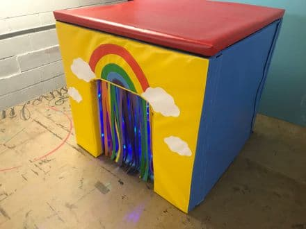 Sensory Cube with Lights , Music and mirror