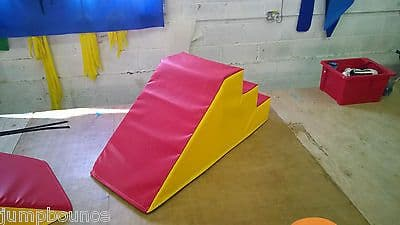 Soft Play Step & Slide  ideal soft play extra  120cm x 45cm x 45cm