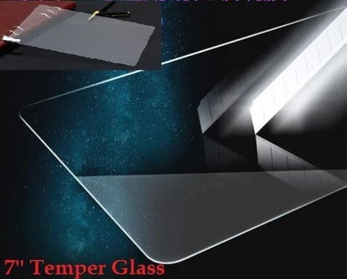 """7'' INCH Temper Glass SCREEN PROTECTOR FOR 7"""" ALLWINNER ANDROID TABLET PC A23 UK"""