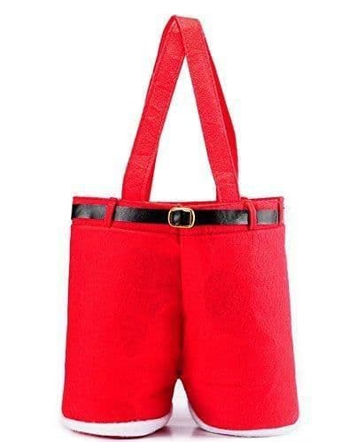 Father Christmas/Santas Pants Gift Bag/Candy Bag Santa Pants