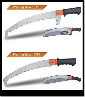 HEAVY-DUTY TREE PRUNING SAW TRI-CUT BLADE GARDEN GIFT