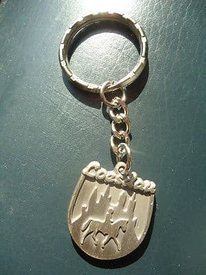 Horse and Hound Keyring