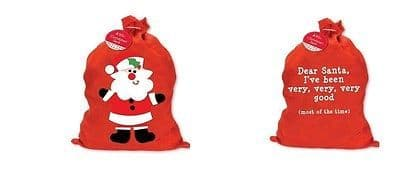 NEW CHRISTMAS SANTA SACK STOCKING SACK GIFT