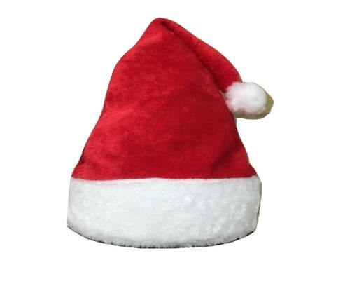 Red Baby Kid Christmas Xmas Santa Hat 100% polyester fleece UK