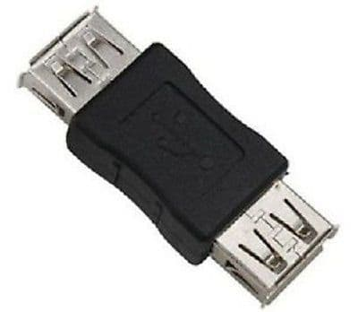 USB 2.0 A Female to A Female Coupler Converter Adapter Connector Joiner Cable