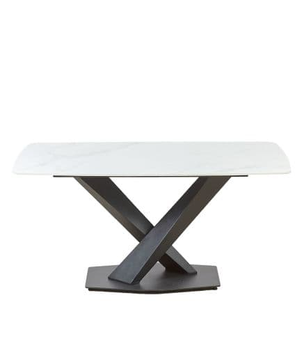 Ayden Dining table Square White 140x80