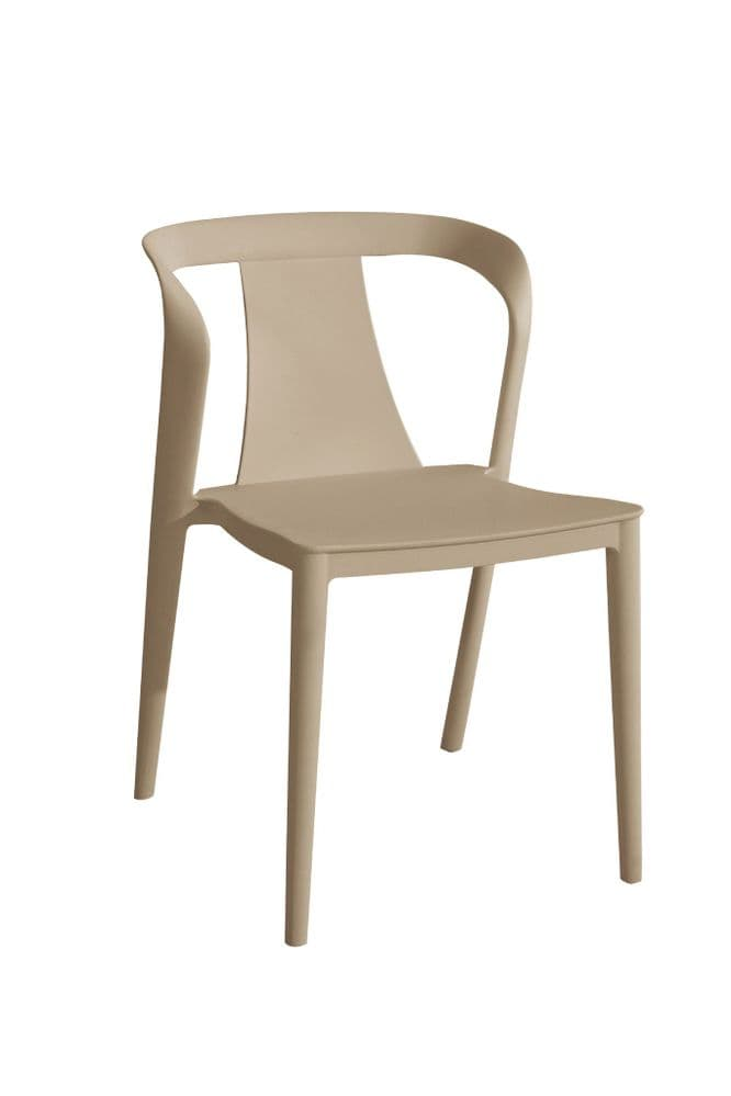 x4 Saigon Stackable Dining Chair Camel