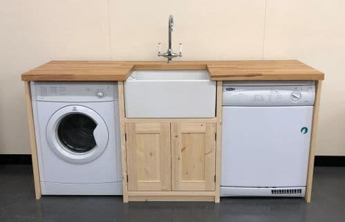 Pine Traditional Style Belfast Utility Unit