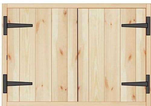 Rustic Farmhouse Kitchen Wall Unit 1000mm wide