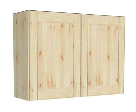 Wall Pine 2 Door Kitchen Cabinet 1000mm wide