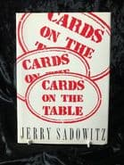 Cards on the Table by Jerry Sadowitz